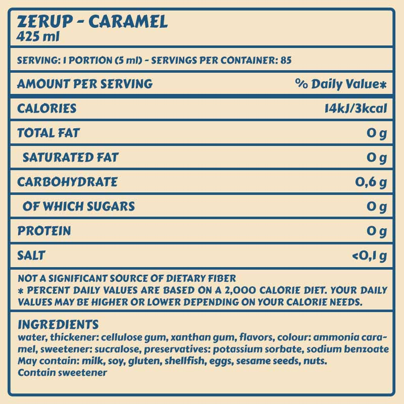 Zerup Caramel