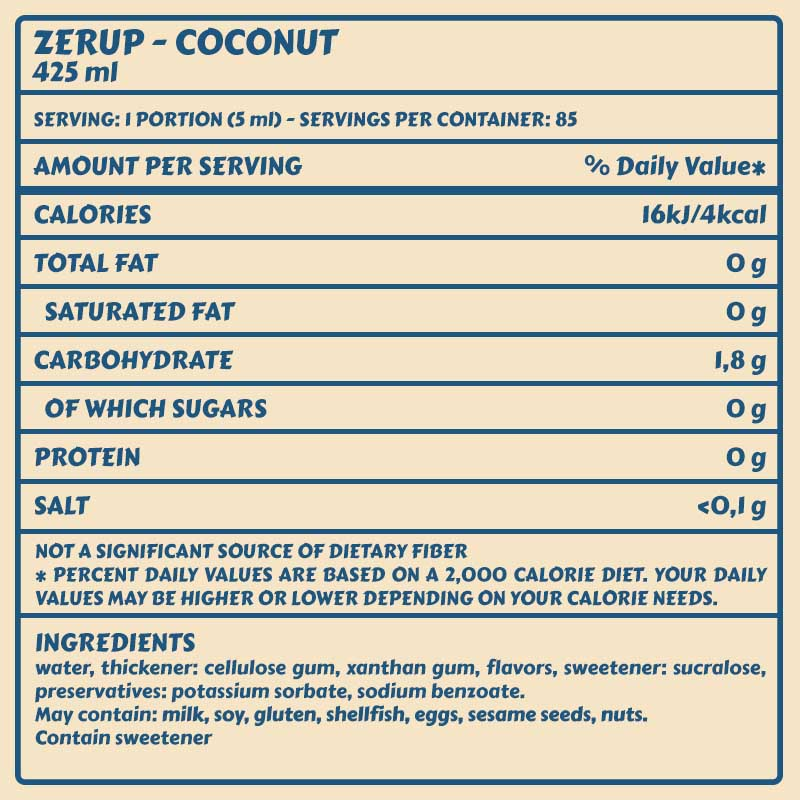 Zerup Coconut
