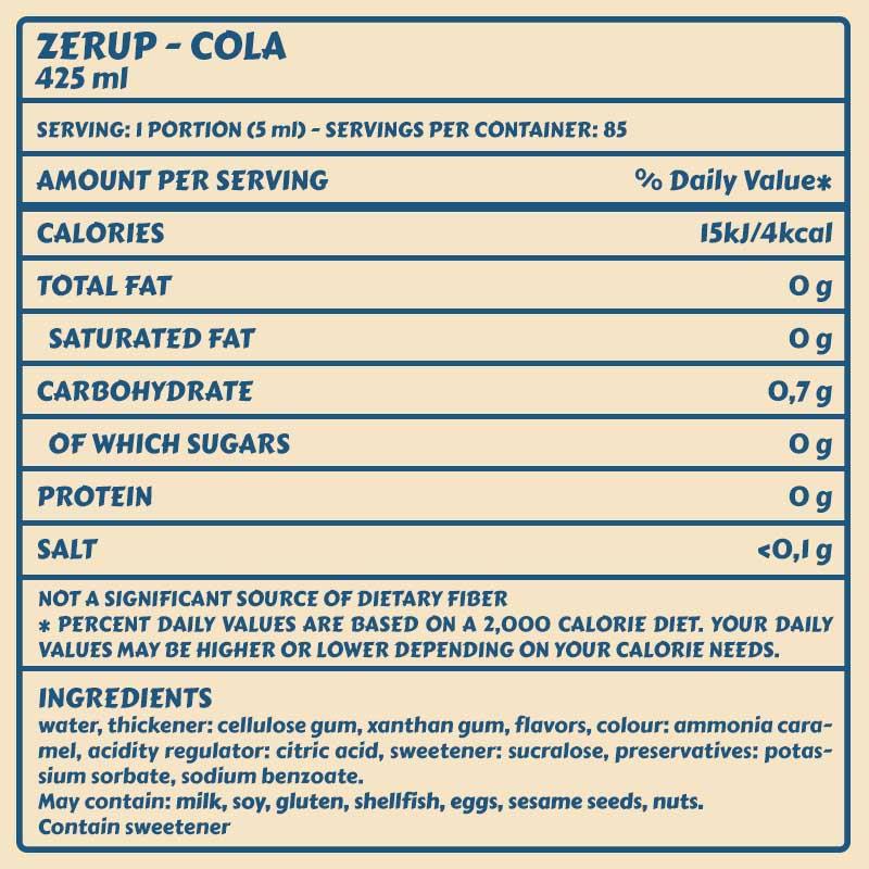 Zerup Cola