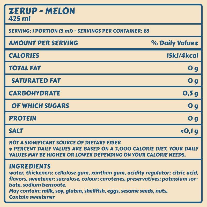 Zerup Melone