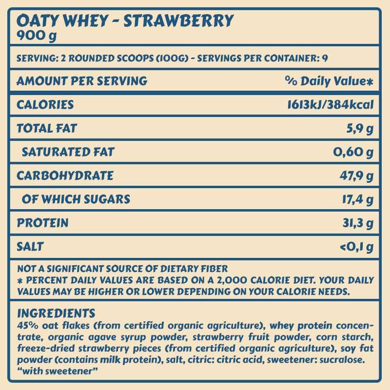 Tabelle Oaty Strawberry