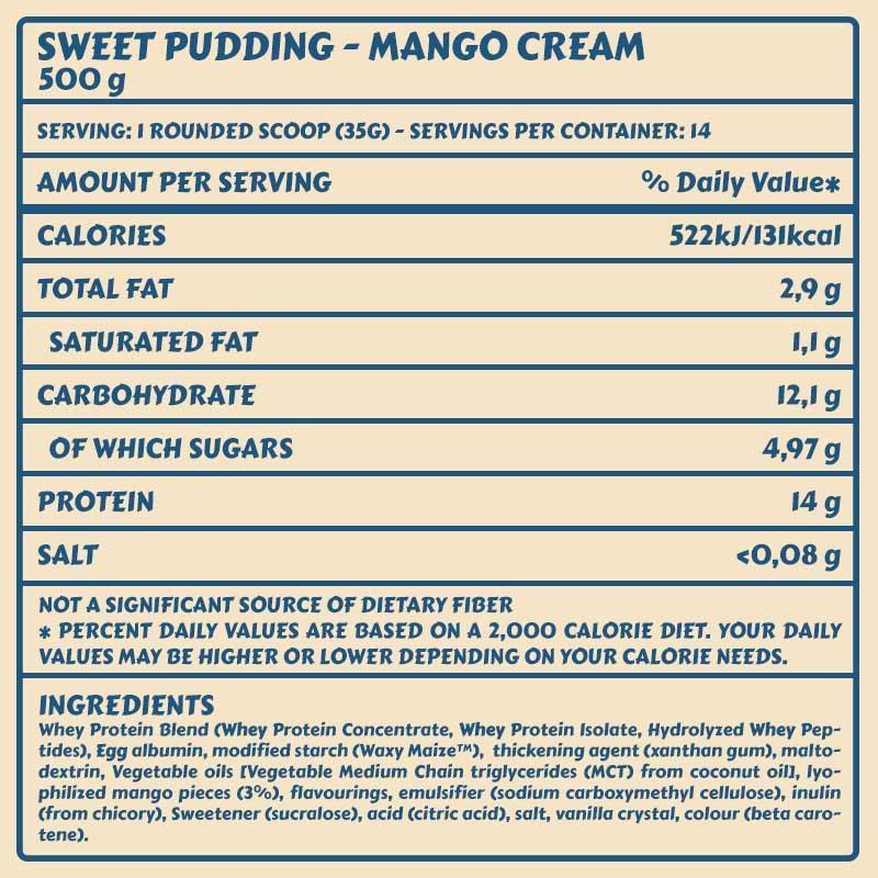 Tabelle sweet_puddin_MangoCream