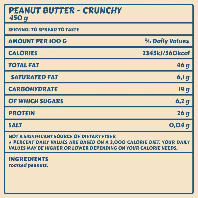 Tabelle Peanut_Butter_Crunchy